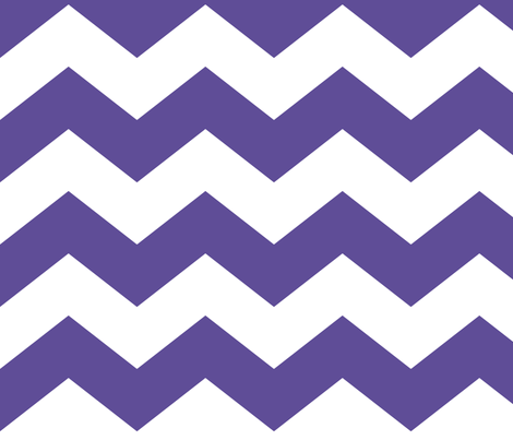 chevron lg purple fabric by misstiina on Spoonflower - custom fabric