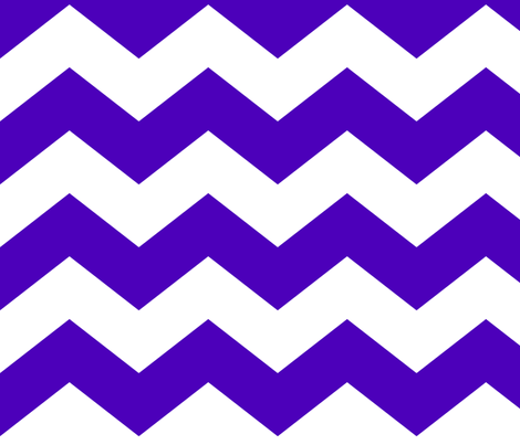 chevron lg purple and white