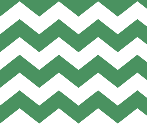 chevron lg green and white fabric by misstiina on Spoonflower - custom fabric