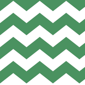 chevron lg green and white