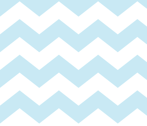 chevron lg ice blue fabric by misstiina on Spoonflower - custom fabric