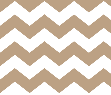 chevron lg tan fabric by misstiina on Spoonflower - custom fabric