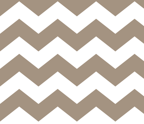chevron lg tan and white fabric by misstiina on Spoonflower - custom fabric