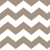 chevron lg tan and white