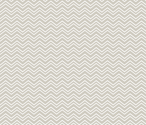 chevron no2 beige and white fabric by misstiina on Spoonflower - custom fabric