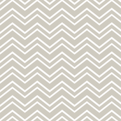 chevron no2 beige and white