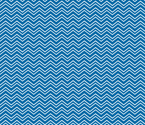 chevron no2 blue and white fabric by misstiina on Spoonflower - custom fabric