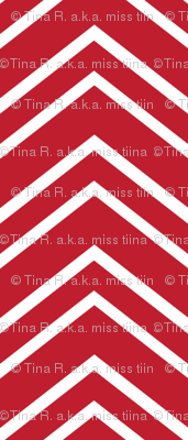 chevron no2 red and white