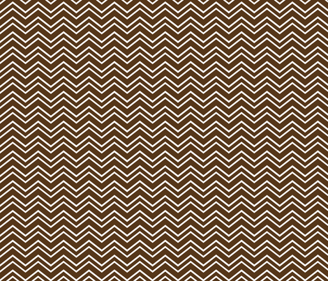 chevron no2 brown fabric by misstiina on Spoonflower - custom fabric