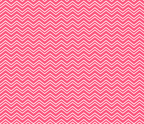 chevron no2 hot pink fabric by misstiina on Spoonflower - custom fabric