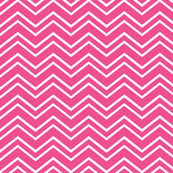 chevron no2 dark pink and white