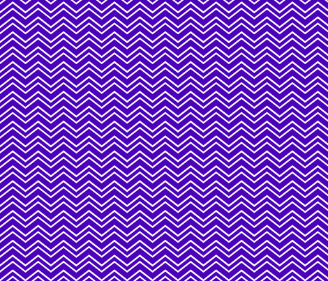 chevron no2 purple and white fabric by misstiina on Spoonflower - custom fabric