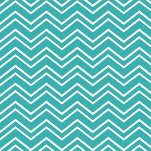 chevron no2 teal