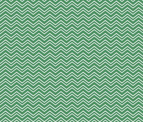 chevron no2 green and white fabric by misstiina on Spoonflower - custom fabric