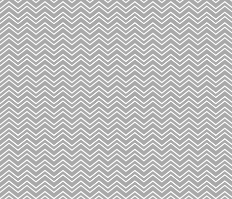 chevron no2 grey fabric by misstiina on Spoonflower - custom fabric