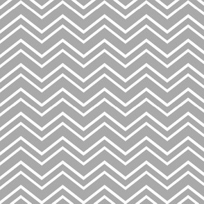 chevron no2 grey and white