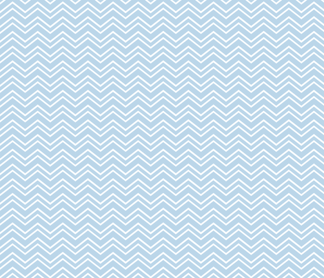 chevron no2 powder blue and white