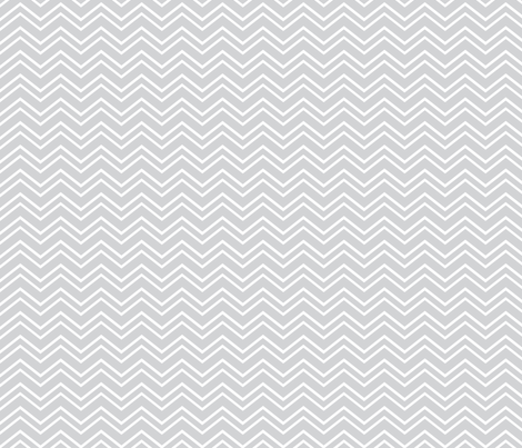 chevron no2 light grey and white fabric by misstiina on Spoonflower - custom fabric