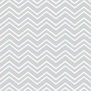 chevron no2 light grey and white