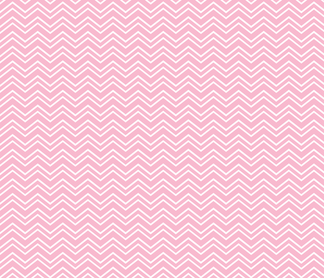 chevron no2 light pink and white fabric by misstiina on Spoonflower - custom fabric