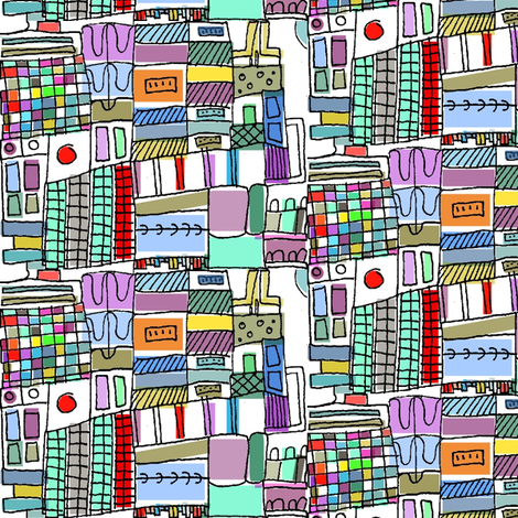 Tokyo fabric by boris_thumbkin on Spoonflower - custom fabric