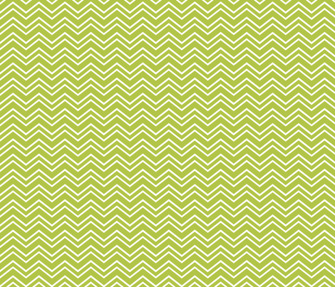 chevron no2 lime green and white fabric by misstiina on Spoonflower - custom fabric