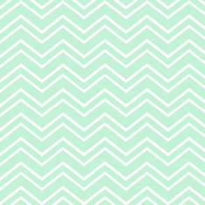 chevron no2 ice mint green