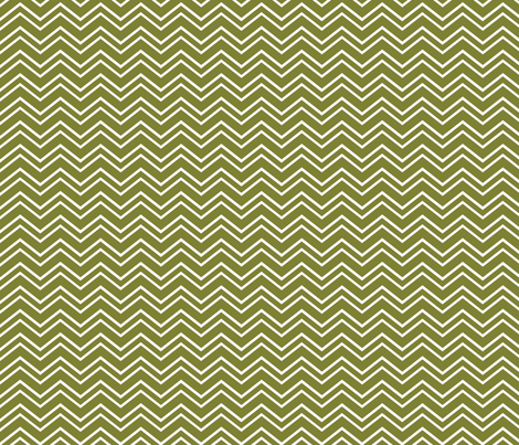 chevron no2 olive green and white fabric by misstiina on Spoonflower - custom fabric