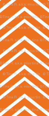 chevron no2 orange