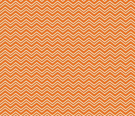 chevron no2 orange and white fabric by misstiina on Spoonflower - custom fabric