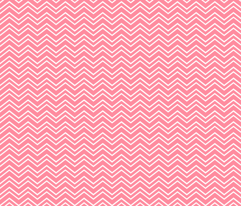 chevron no2 pretty pink and white fabric by misstiina on Spoonflower - custom fabric