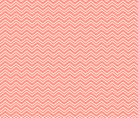 chevron no2 peach fabric by misstiina on Spoonflower - custom fabric