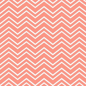 chevron no2 peach