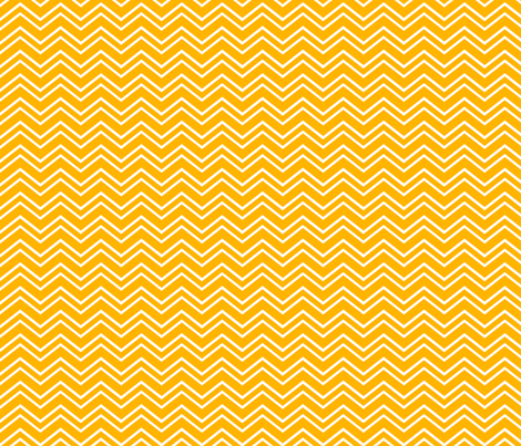 chevron no2 pumpkin orange and white fabric by misstiina on Spoonflower - custom fabric