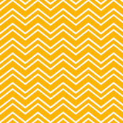 chevron no2 pumpkin orange and white