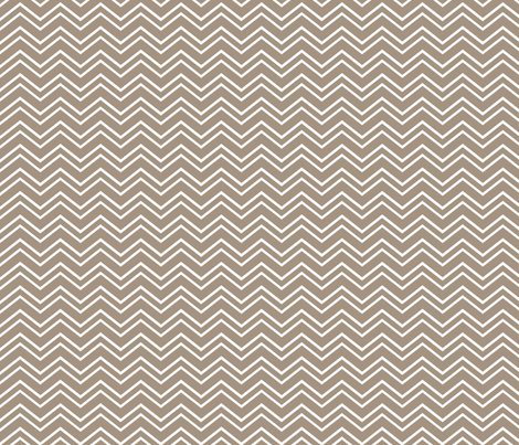 chevron no2 tan and white fabric by misstiina on Spoonflower - custom fabric