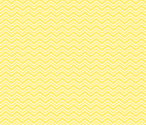 chevron no2 yellow fabric by misstiina on Spoonflower - custom fabric