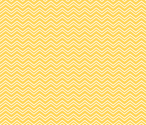 chevron no2 yellow and white fabric by misstiina on Spoonflower - custom fabric