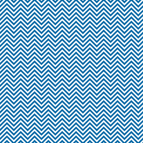 chevron pinstripes blue and white fabric by misstiina on Spoonflower - custom fabric