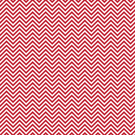 chevron pinstripes red and white fabric by misstiina on Spoonflower - custom fabric