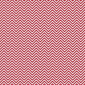 chevron pinstripes red and white