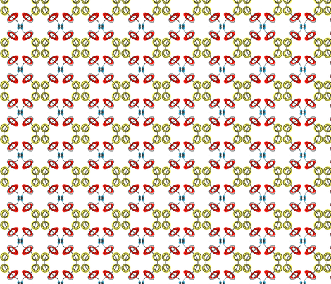 Feedsack-esque fabric by boris_thumbkin on Spoonflower - custom fabric
