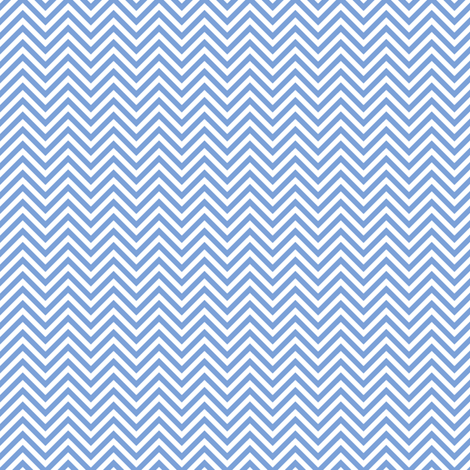 chevron pinstripes cornflower blue and white
