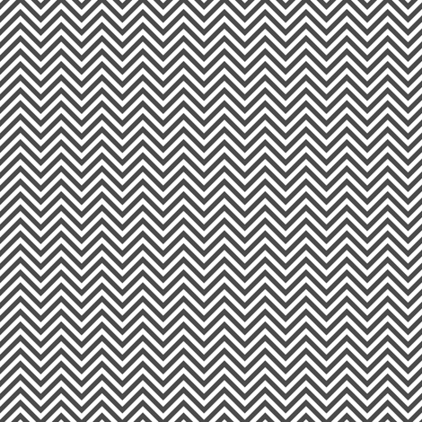 chevron pinstripes dark grey and white fabric by misstiina on Spoonflower - custom fabric