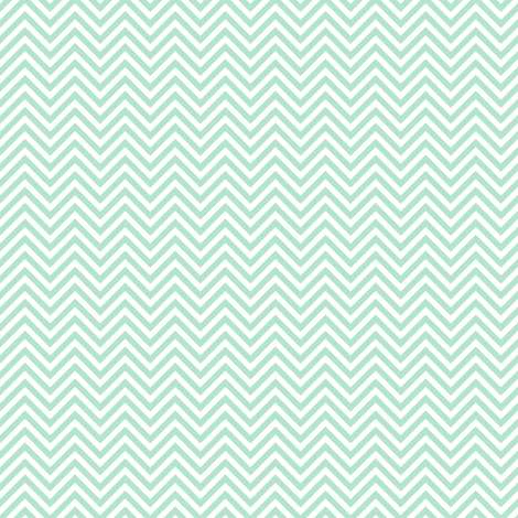 chevron pinstripes mint green and white fabric by misstiina on Spoonflower - custom fabric
