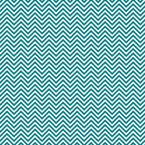 chevron pinstripes dark teal and white fabric by misstiina on Spoonflower - custom fabric