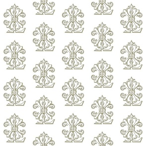 L monogram golds