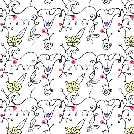 Dutchy Calico fabric by boris_thumbkin on Spoonflower - custom fabric