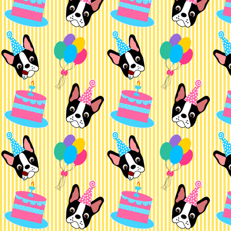 Boston Birthday Party fabric by missyq on Spoonflower - custom fabric