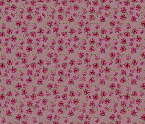 retrorose fabric by hollypicthall on Spoonflower - custom fabric